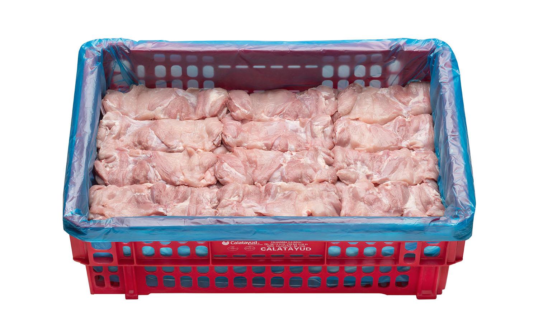 Bistec de pollo caja de 10 kg