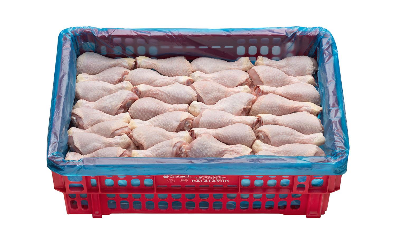 Jamoncito muslo bandeja caja de 10 kg