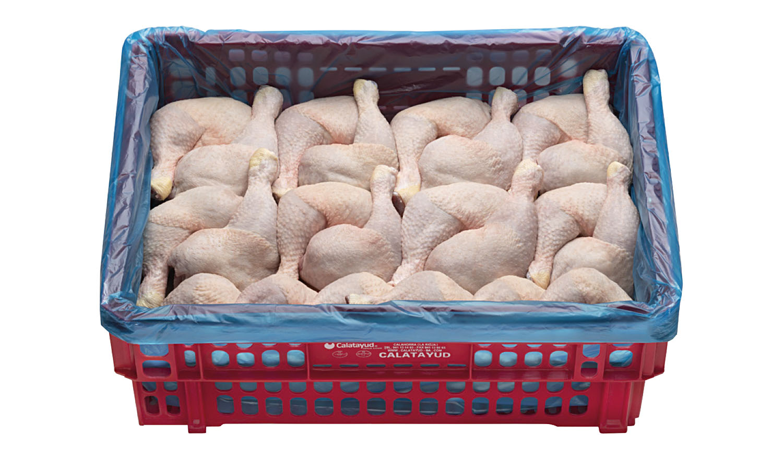 Muslos de pollo caja 10 kg