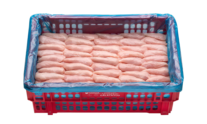Solomillo de pechuga caja de 10 kg
