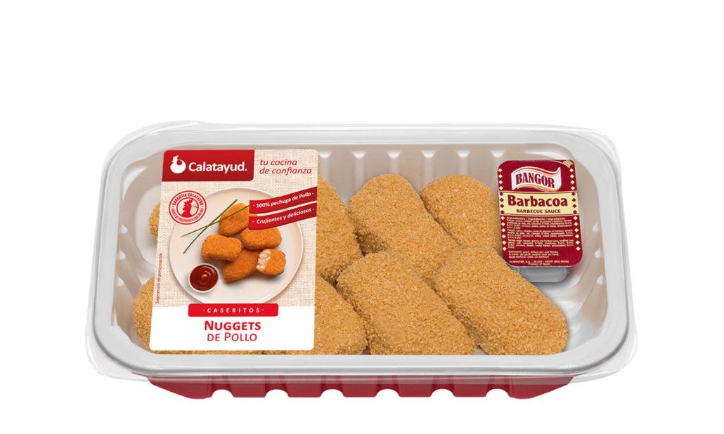Nuggets de pollo bandeja PLS