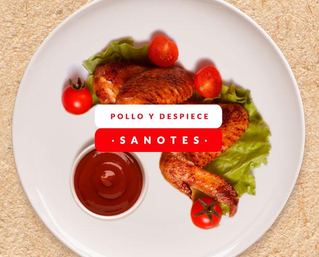 Pollo y depiece Calatayud | Sanotes Calatayud