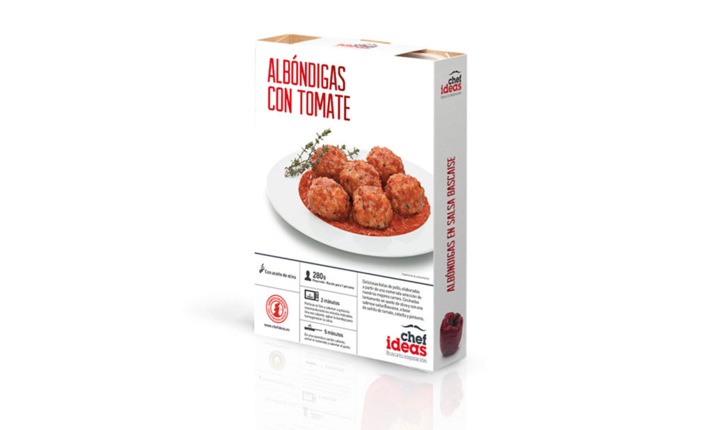 Albóndigas con tomate 280 gr