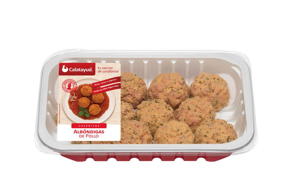 Albóndigas de pollo bandeja PLS