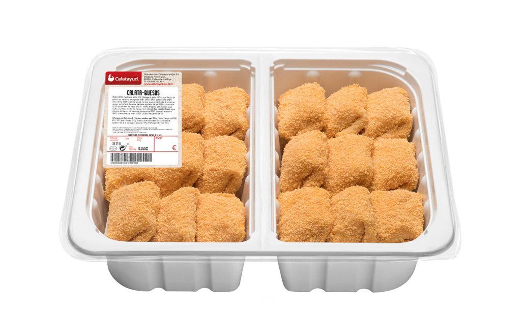 Calata-quesos bandeja bipack 1.600 kg