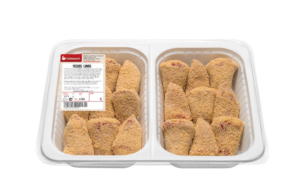 Pimientos rellenos bandeja bipack 1 kg