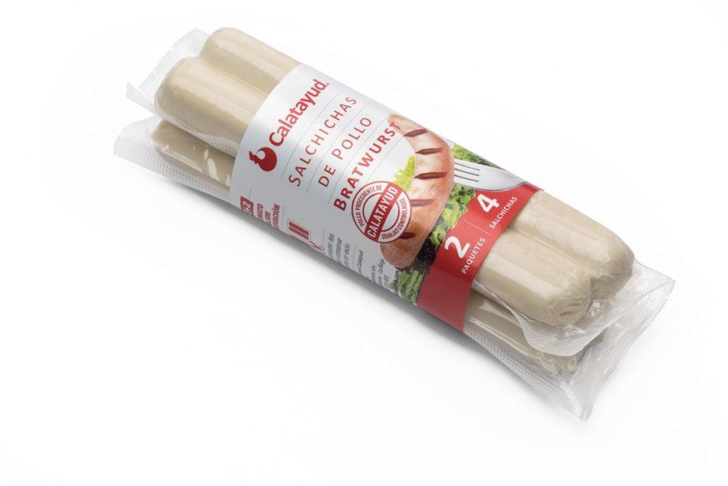salchicha de pollo BRATWRST 0790